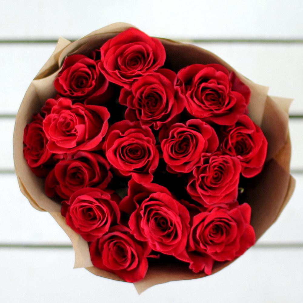 ПРИЗ — Букет из 15 шикарных роз